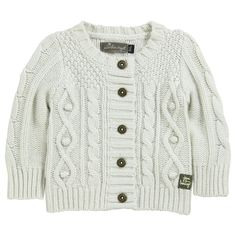 Jean Bourget TIny Girl cardigan (Cool and Chic)