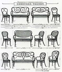 Thonet Catalogue, 1904. Source Wiki
