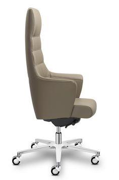 OF COURSE - kožené kancelářské křeslo, které poskytne špičkový komfort