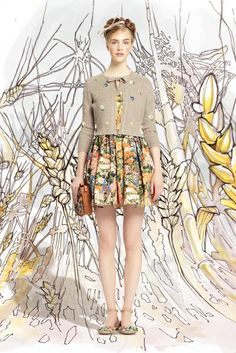 GIO KATHLEEN: Red Valentino Spring/Summer 2014 lookbook