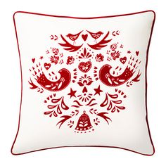 IKEA - VINTER 2016, Cushion cover, You can easily vary the look, because the two sides have different designs.The zipper makes the cover easy to remove.
