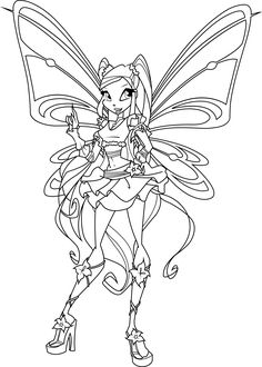 stella sophix coloring page by icantunloveyoudeviantartcom on deviantart winx clubcoloring pages