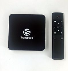 Transpeed S905 Amlogic Quad Core 2.0 GHz 8G ROM 2G RAM TV Box + 2.4G Air Mouse Android 5.1 4 K 2 K HDMI Kodi H.265 Youtube mush up Add on preinstalled Smart TV media player Color Black -- Awesome products selected by Anna Churchill