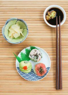 Matcha Sushi Balls | Thirsty for Tea