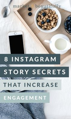 8 Instagram Story Secrets that Increase Engagement • Market Beautifully, Starting a Business, Grow Your Business, Business Tips, Working from Home, Creative Business Tips, Business Advice, Side Hustle, Start Your Business, Passive Income, Automating your Business, #businesstips, #businessadvice, #growyourbusiness