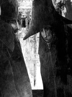 Gabriel Pacheco 1973 - Mexican Surrealist Visionary painter