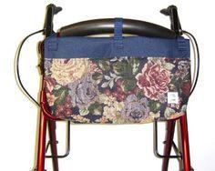 Handi Pockets 2C4WM Storage Accessory Walker, Tapestry Westmont
