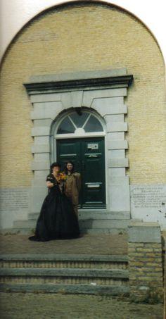 28-07-2000 op de stoep van de Brandaris