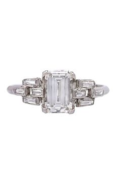 16 Diamond Vintage Engagement Rings For The Timelessly Cool Bride #refinery29 http://www.refinery29.com/60051#slide10