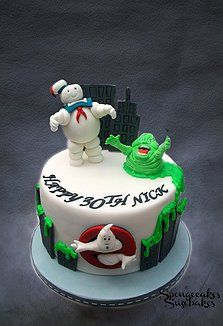 Image result for ghostbuster cake