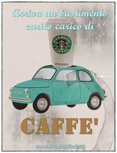 Need some caffeine? Fiat 500 Club Italia