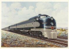 Texas & Pacific Railway (T) EMD E8-A Diesel #2012