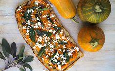 Bruschetta of Roasted Honeynut Squash, Ricotta Salata, Pumpkin Seeds ...