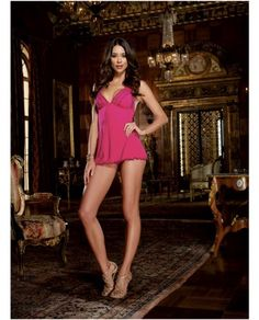 Women's Lingerie, Intimates Have An Inquiring Mind Hot Pink Sexy Open Crotch Bodystocking Fishnet Lingerie One Sz #2 Cheap Sales 50%