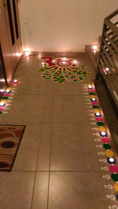 Diwali - Entrance to a house