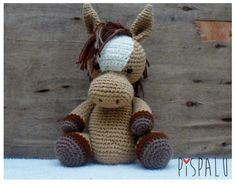 Caballito al crochet * Pispalu * Feria Central