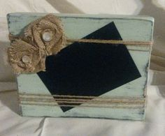 Check out this item in my Etsy shop https://www.etsy.com/listing/384650514/rustic-wood-block-picture-frame