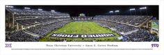 TCU Texas Christian Panoramic Photo Print
