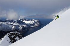 Great Photo: skiing in Senja Norway « Oskar Enander