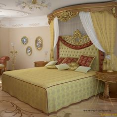 Шторы для спальни #0064