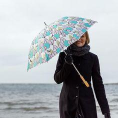 I and my umbrella  Ogawa-rain / Scandinavian Pattern Collection / Rebers design