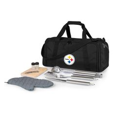 Pittsburgh Steelers Portable Cooler & Grill Accessories Set