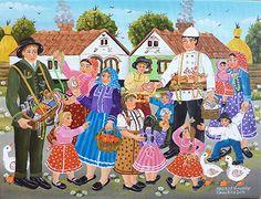 The Village Peddlers by Zuzana Veresky