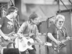 Bob Dylan and Grateful Dead - Queen Jane Approximately [Live 1988] - YouTube--Think this might be part of the same tour I saw at Akron Rubber Bowl.