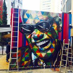 STREET ART : Eduardo Kobra