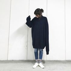 Acne Studios, Poses, Normcore, Classy, One Piece, Fashion Outfits, Denim, Knitting, Luxury