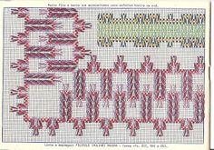 ESQUEMAS PUNTO YUGOSLAVO Swedish Embroidery, Types Of Embroidery, Diy Embroidery, Embroidery Patterns, Huck Towels, Swedish Weaving Patterns, Bargello Needlepoint, Monks Cloth, Weaving Designs
