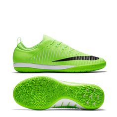 c3d59bc3b Nike MercurialX Finale II IC Indoor Soccer Shoes (Flash Lime Black White)