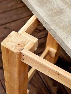 Anímate y prueba hacer tu nueva mesa para el patio, terraza o jardín con este tutorial!