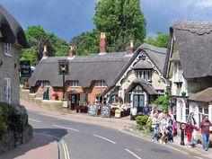 Shanklin Old Village.