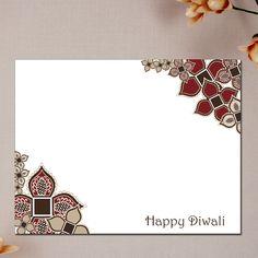 Vintage Lace Diwali Cards #SoulfulMoon