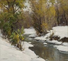 "Clyde Aspevig, ""Autumn Stream"""