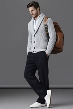 Best moda masculina casual fashion for men ideas Sharp Dressed Man, Well Dressed Men, Casual Winter Outfits, Men Casual, Smart Casual, Casual Chic, Casual Wear, Mode Masculine, Silvester Outfit