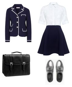 """uniform"" by saavroth on Polyvore featuring Tory Burch, Paul & Joe Sister, Max&Co. and McKleinUSA"