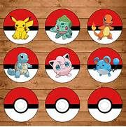 ... White - Pokemon Stickers - Pokemon Party Favors - Pokemon Printables