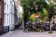 Amsterdam beauty. Walking to the red light district. Netherlands.