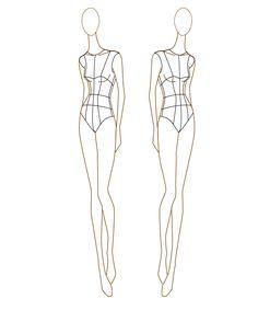 fashion croquis - Sök på Google