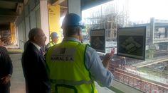 Presidente Medina supervisa obras de nueva Ciudad Sanitaria