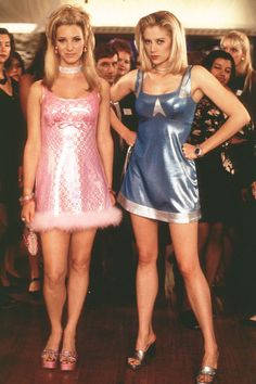 Inspired my love of fashion from an early age.  #romyandmichelleshighschoolreunion