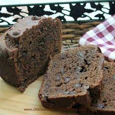 Chocolate sour cream bread