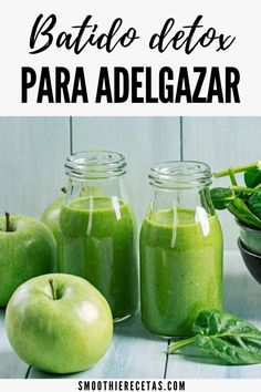 Detox Shake for Weight Loss and Slimming - Dieta Vegetariana Vegetarian Detox Smoothie Recipes, Detox Recipes, Healthy Smoothies, Breakfast Smoothies, Detox Shakes, Natural Cleanse, Natural Detox, Weight Loss Drinks, Weight Loss Smoothies