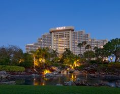 The Hyatt Regency Grand Cypress in Orlando