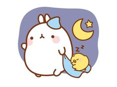 Sweet Dreams Molang and Piu