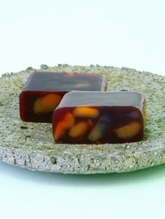 Yokan, traditional Japanese sweets made with bean paste, agar and sugar