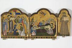 Dossale dalla Chiesa di San Francesco al Prato. Pinacoteca Nazionale di Perugia. 1270-80. Maestro di San Francesco