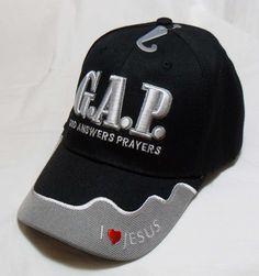 b89d6ff7eeb GOD ANSWERS PRAYERS Matthew 21 22 Christian Hat Baseball Cap Show Your Faith